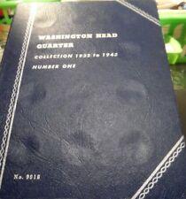 """UNUSED"" WASHINGTON QUARTER 1946-1959 WHITMAN COIN BOOK#2 (32418)2"
