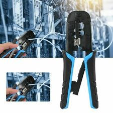 Network Cable Pliers Crimping Tool For RJ45/11/12 Connector Cat5e/6/6a Modular
