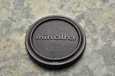 Genuine Minolta 57mm Push On Front Lens Cap for 55mm Front Rokkor (2734)