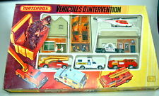 "Matchbox Giftset G-7 ""Vehicules D'intervention"" Frankreich 1979 top"