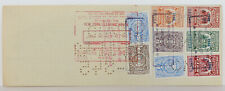 Bank of London & South America Limited N.Y. $20.000 Check 1949 Stamps from Chile