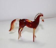 Art Blown Glass Murano Figurine  Glass Horse Figurine #12