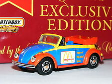 Matchbox Collectibles DYM92013 1968 Volkswagen Beetle Convertible McDonalds 1/43