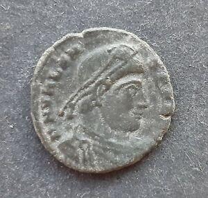 Roman bronze coins. Valens (364-378)