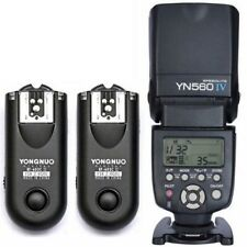 Yongnuo YN-560 IV Flash Speedlite+ 2pcs RF-603II Flash Trigger for Canon