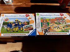 Tiptoi Puzzle Sammlung 4 Stück neu unbespielt