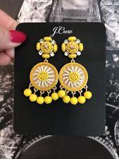 Citron New$65 With J.Crew Bag! J.Crew Beaded Drop Earrings! Brilliant