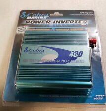 Cobra CPI M400 800WT 12V DC to 120V AC Car Power Inverter, 2 Outlets