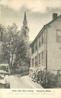 Albertype 1930s ROCKPORT MASSACHUSETTS Vista Main Street postcard 4432