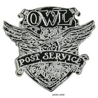 Harry Potter Chouette Envoie Service Patch Thermocollant Badge Brodé Pour Sacs