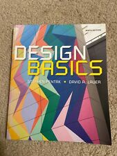 Design Basics by Stephen Pentak and David A. Lauer (2015, Paperback) book