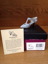 Raine Just the Right Shoe Coa Box Something Blue 25417