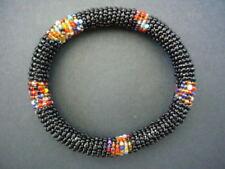 Gioielli etnici e tribali nero perla