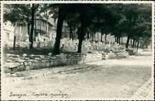 Yougoslavie, Sarajevo. Cimetière musulman (Bosnie Herzégovine), 1957  Vintage si