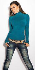 Sexy  Rollkragen Pullover Pulli Sweater  Rollkragenpullover