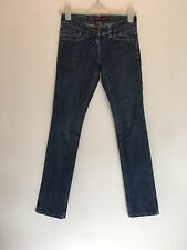 SIZE 6 RIVER ISLAND BLUE SKINNY JEANS SUMMER/HOLIDAY/SMART/CASUAL/TOWIE RRP £60