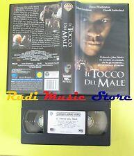VHS film IL TOCCO DEL MALE 1999 denzel washington WARNER GLI SCUDI (F57) no dvd