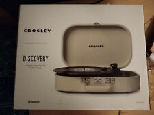 Crosley  Discovery 3-Speed Portable Turntable w/Bluetooth