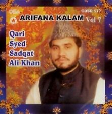QARI SYED SADAQAT ALI KHAN - ARIFANA KALAM - BRAND NEW CD - FREE UK POST