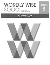 Wordly Wise 3000 Grade 8 Key **3rd Edition**