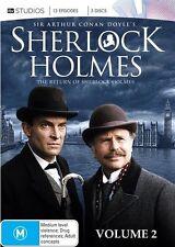 Sherlock Holmes : Vol 2 (DVD, 2012, 5-Disc Set)