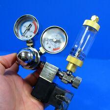 Aquarium CO2 Solenoid Regulator + Bubble Counter & Check Valve- Plants Fish Tank