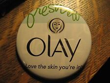 Oil Of Olay Love The Skin You're In Face Cream Logo Advertisement Pocket Mirror