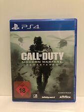 Call Of Duty: Modern Warfare Remastered (Sony PlayStation 4, 2017)
