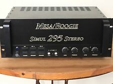 Mesa Boogie Simul-Class Stereo Power Amp 295 Dual Amplifier