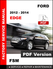 2012 - 2014 FORD EDGE 2.0 L 3.5 L 3.7 L ENGINE SERVICE REPAIR WORKSHOP MANUAL
