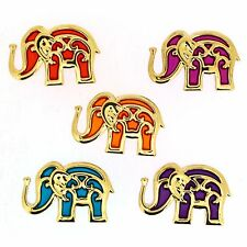 Jesse James Buttons ~ Dress It Up ~ BOLLYWOOD ELEPHANTS 9361 ~ BOHO~ Sew~ Crafts