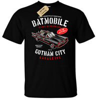 Batmobile T-Shirt Mens funny gotham garage car wayne