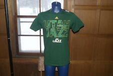Lot of 5 NBA Adidas Utah Jazz Jersey Shirt Green Sz S + M