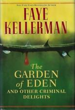 The Garden of Eden and Other Criminal Delights Faye Kellerman SIGNED First ED