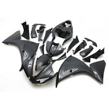Carbon Fiber Effect Fairing Bodywork Injection Kit For Yamaha YZF R1 2009-2011