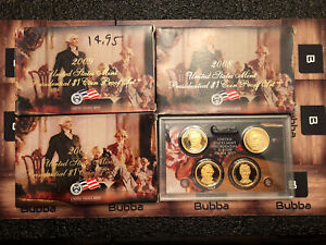 2007 2008 2009 PRESIDENTIAL Proof Sets W/ Box Coa & 2010 W/out