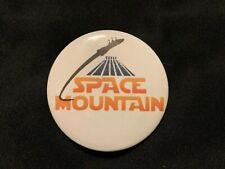 2.5 Inch Disneyland Space Mountain Button Pin