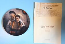 "Knowles Collector Plate Norman Rockwell""The Music Maker"" Father And Son"