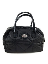 FURLA Black Quilted Small Satchel handbag