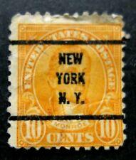 US-1922-New York 10c Precancel-Used