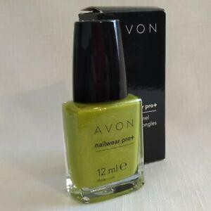 AVON NAILWEAR Pro+ NAIL ENAMEL/VARNISH ~ DIVINE LIME / GREEN