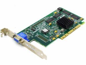 IBM Number Nine FRU09N5898 01-338120 S3 Savage4 Lt 8MB 3.3V AGP VGA Graphic Card