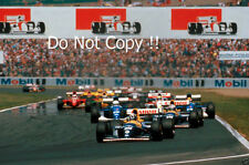 Damon Hill Williams FW15C FRENCH GRAND PRIX 1993 Fotografia