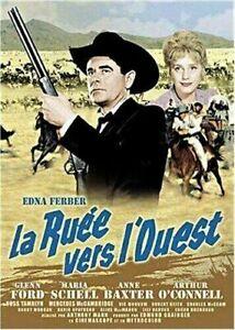 DVD - LA RUEE VERS L'OUEST / EDNA FERBER, GLEN FORD, MARIA SCHELL, WARNER, NEUF