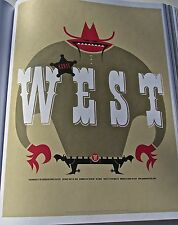 Kayne West Mini Concert Poster Reprint for George  WA 2005 SHOW 14X10