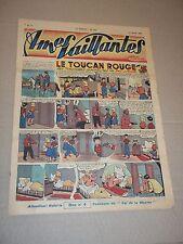"BD ""AMES VAILLANTES no 11"" (1949) TOUCAN ROUGE / LYDIA / PERLIN ET PINPIN..."