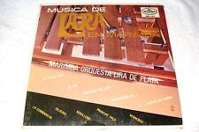 "Marimba Orquesta Lira de Plata ""Musica de Lara.."" 1960's Latin LP,SEALED!,Dimsa"