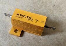 Arcol 25W ALLUMINIO placcati WIREWOUND RESISTORE HS25