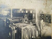 c.1905 Pocomoke City MD Merril Mens Clothing Store Interior View Cabinet Photo