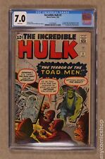 Incredible Hulk (1st Series) #2 1962 CGC 7.0 1570704007